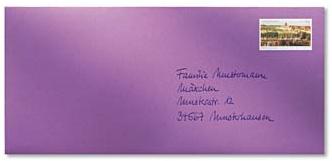 Umschlag Taufbrief